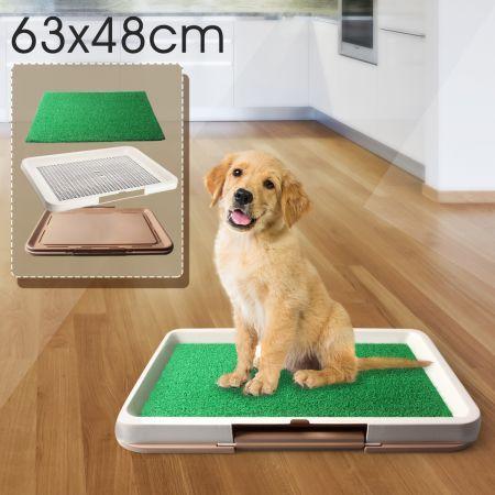 portable puppy pet toilet pad indoor dog grass restroom