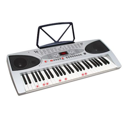54 Key Keyboard with Flashing Lights with Microphone | Crazy Sales
