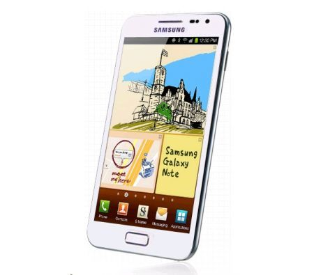 Samsung GALAXY Note N7000 Android Smartphone Mobile Phone - White