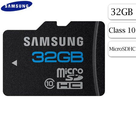 FREE SHIPPING! Samsung 32GB MicroSDHC Card Class 10 & Adapter