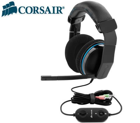 Corsair Vengeance 1300 Analog Gaming Headset - 3D Audio