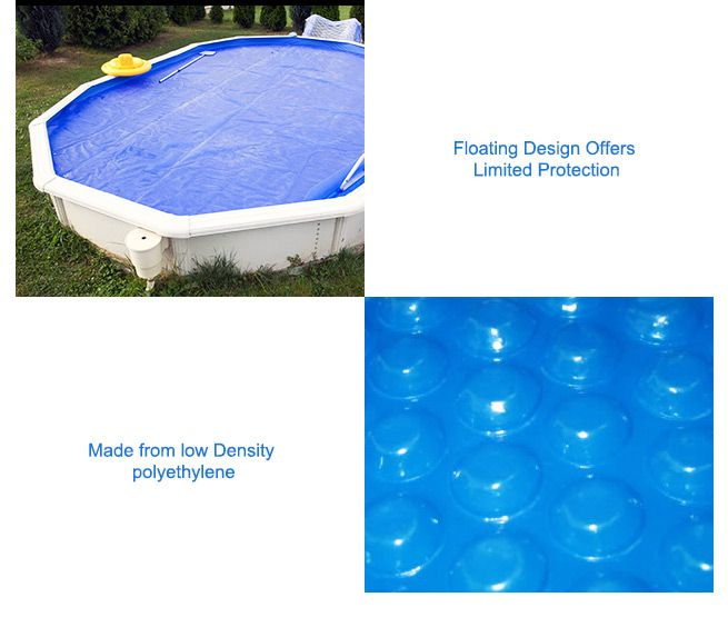 400 Micron Solar Outdoor Swimming Pool Cover Blanket 7m