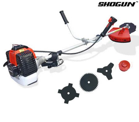 Shogun brush cutter 49cc 2 stroke air cooled 5 in 1 for Garden tools equipment sales