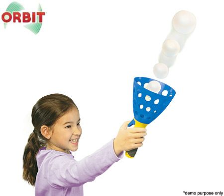 Orbit - Ball Launcher - Pop 'n' Catch - Children's Toy - Set of 2