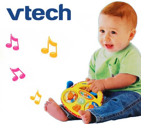 Vtech Baby Soft Singing Radio Toy for 3-24M