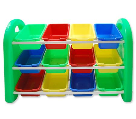 Multi-Coloured Plastic Childrenu0027s Toy Storage Boxes  sc 1 st  CrazySales & Toy Storage Boxes Kids Organizer Bins | Crazy Sales