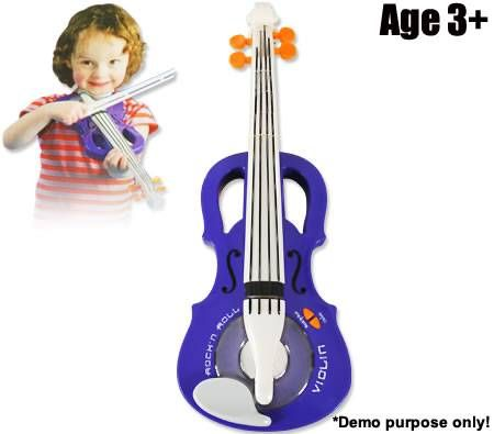 Rockstar Toy Violin with Built-In Songs