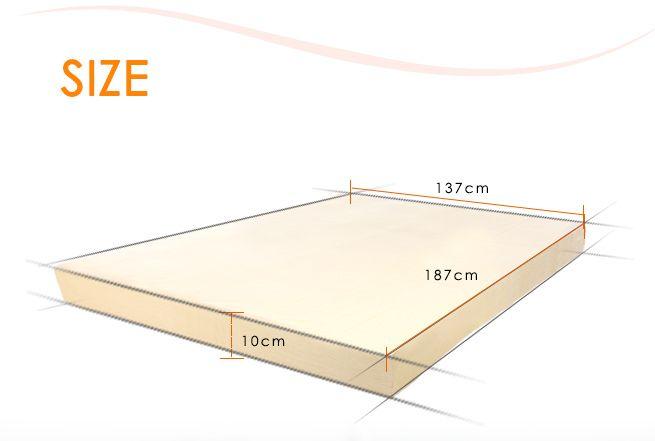 memory foam mattress topper double size crazy sales. Black Bedroom Furniture Sets. Home Design Ideas