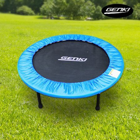 "Genki Sport Trampoline - Small 40"" Fitness Trampoline with Safety Padding Cover"