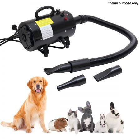 Pet Dryer - Handheld with Adjustable Wind Speed and Temperature