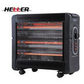 Heller Heater - 2400W Radiant with 3 Heat Settings and Turbo Fan