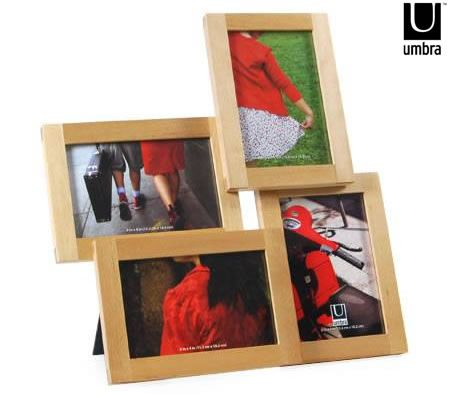 Umbra Photo Frame Lira Wooden Collage Picture Frame