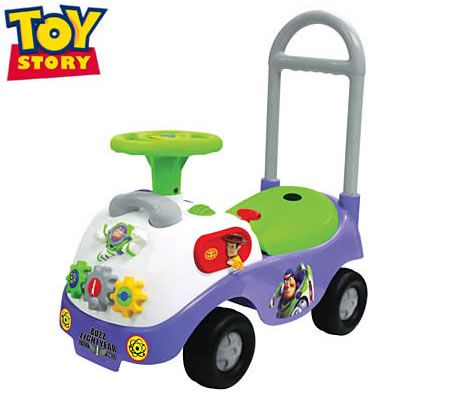 Kiddieland Ride on Car Toy Story Buzz Lightyear My First Activity Toy