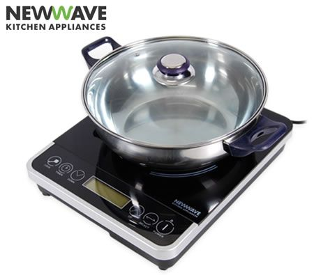 NewWave Portable Induction Cooktop - Hot Plate Cooker