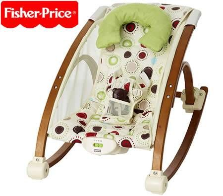 Fisher Price Bentwood Baby Studio Rocker & Seat