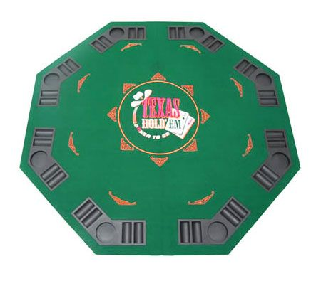 Foldable Poker Table Top for 8 Players