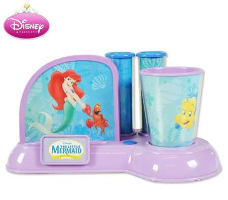 Disney Little Mermaid Musical Toothbrush Holder Crazy Sales