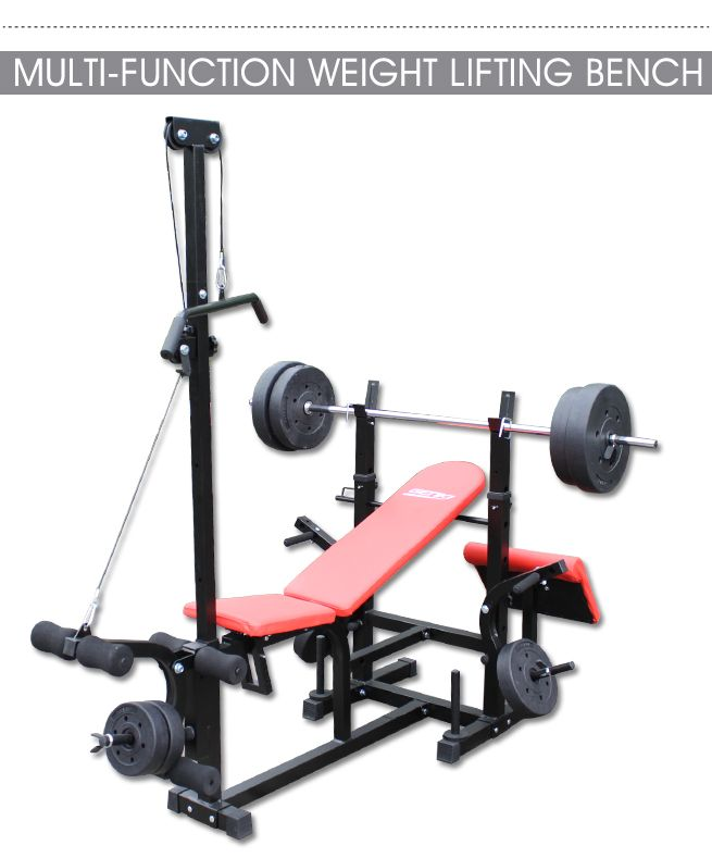 Genki Multi-Station Bench Press with Weights