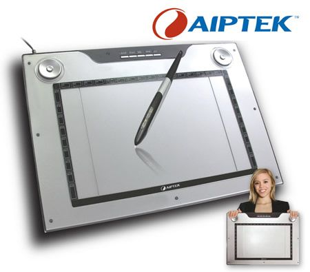 "Aiptek The Smartest Graphics Tablet 14.1"" Media Tablet 14000U"