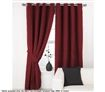 Apartmento 3 Pass Ring Top Curtains - 240 x 213 cm - Red