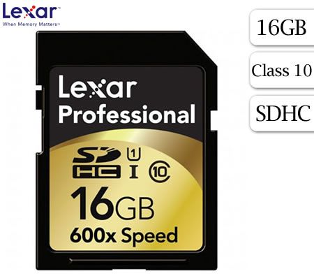 FREE SHIPPING! Lexar 16GB Professional SDHC UHS-I Card Class 10 600X 90MB/s