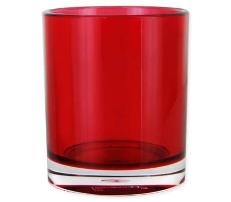 Red Bathroom Cup