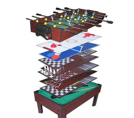 9 in 1 Multi Games Table