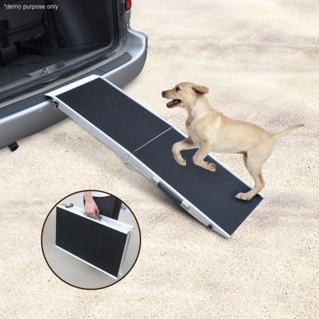 Aluminium Foldable Pet Ramp with Non Slip Surface