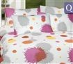Luxury Living Cotton Rich Quilt Cover Set With 2 x Pillowcases - Plouf /250TC/Queen Size