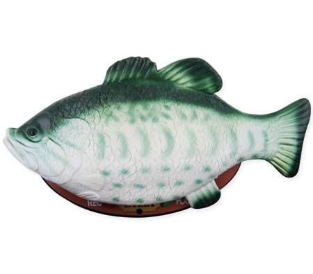 Big mouth billy bass the singing fish sensation crazy sales for Talking bass fish