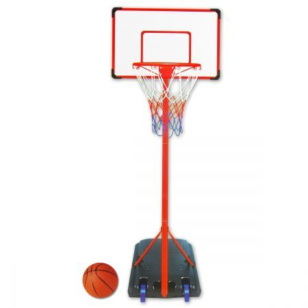 King Sport Portable Height Adjustable Basketball Hoop Set
