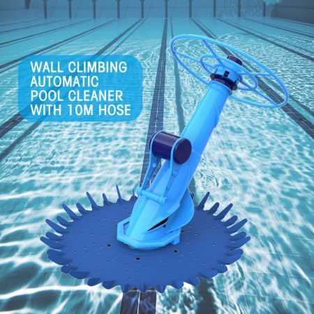 Wall Climbing  Cleaner with 10m Hose & Barraduca Diaphragm