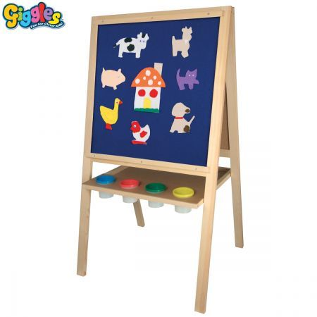 5 in 1 magnetic blackboard whiteboard easel for painting and drawing crazy sales. Black Bedroom Furniture Sets. Home Design Ideas