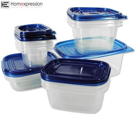 Homexpression Set of 15 Food Storage Containers