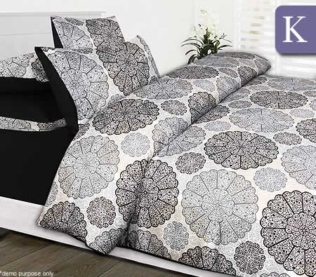 6pc jake bed set king quilt cover fitted sheet for Jake quilted bedding