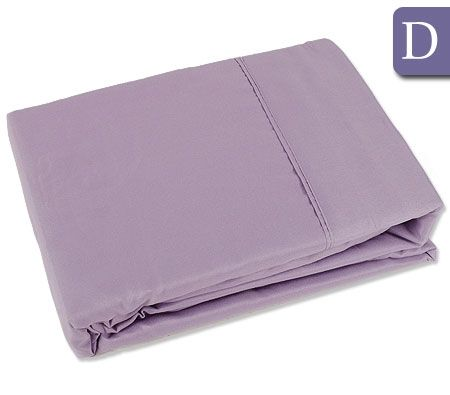 the big sleep double bed fitted flat sheet set lilac. Black Bedroom Furniture Sets. Home Design Ideas