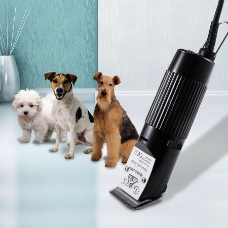 30W Professional Pet Dog Hair Trimmer Grooming Clipper