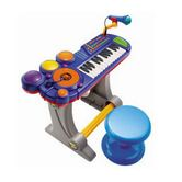 Children's Sound Synthesizer Electronic Organ with Microphone / Seat