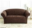Sure Fit Slipcover for 2 person Couch - Damask/Espresso