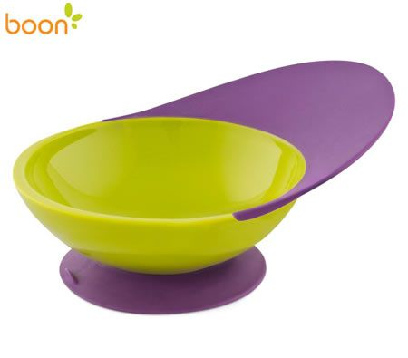 Boon Catch Baby Suction Bowl - Grape / Kiwi