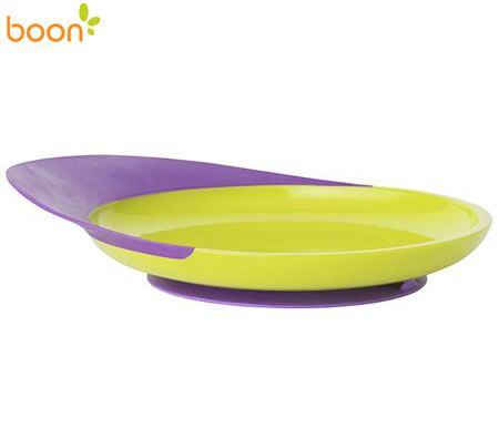 Boon Catch Baby Suction Plate - Grape / Kiwi
