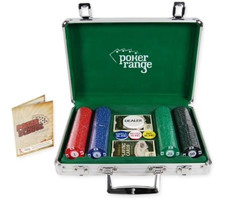 Standard 200 Piece Poker Chip Set With Carry Case