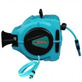 Wall Mountable Retractable Hose Reel with 20 Meter Water Hose