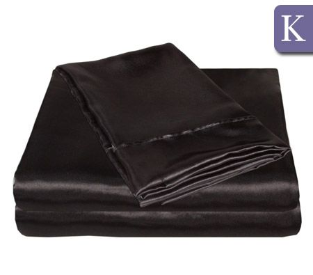 King Size Black Bed Sheets: Pick the perfect bed sheets from our wide selection of patterns and colors.