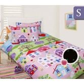 Happy Kids Glow in the Dark Single Bed Quilt Cover Set - Lovely House