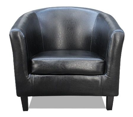 black leather tub chair black faux leather tub chair crazy sales 11259 | 69479 292033 F