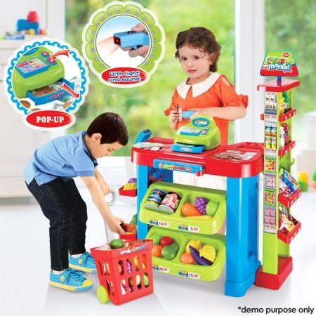 Kids Toy Supermarket Set | Crazy Sales