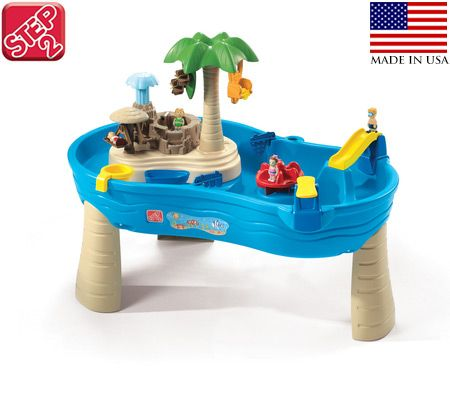 step2 tropical island resort childrens water play table crazy sales. Black Bedroom Furniture Sets. Home Design Ideas