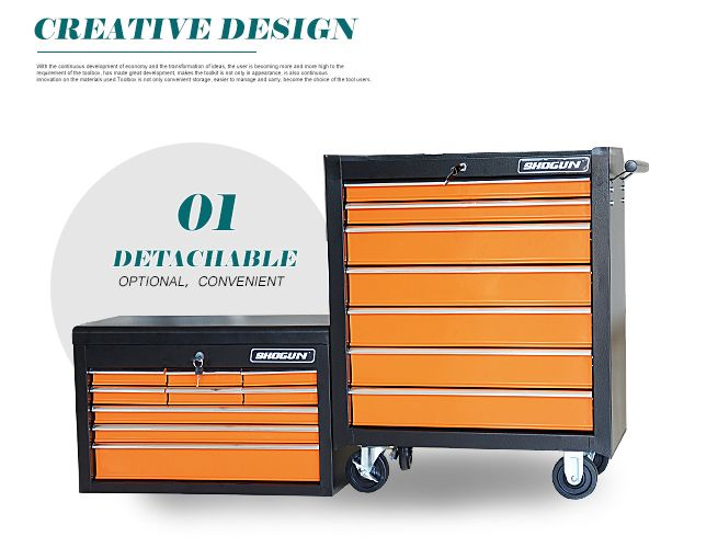 16 Drawer Mechanic Tool Box Chest Cabinet Toolbox Roller Cabinet ...