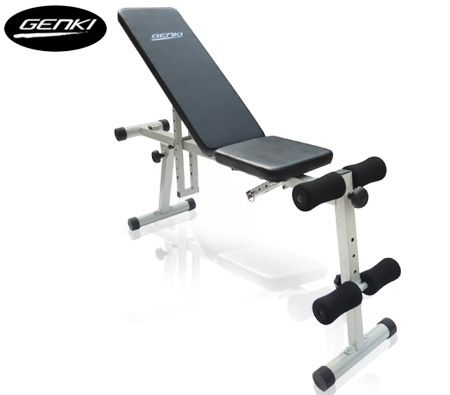 Genki Adjustable Weight Bench